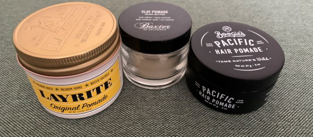 Various Pomades