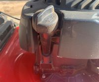 Lawnmower oil dip stick
