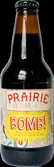 Prairie Bomb in bottle